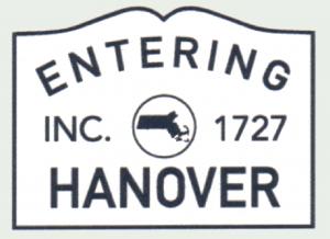 Entering Hanover, MA